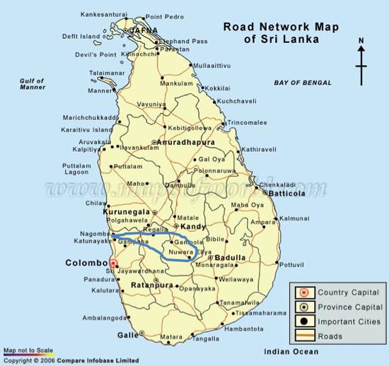 Pinnawala Carte Sri Lanka.Pinnawela Nuwara Eliya Eisvogelreisen Sri Lanka